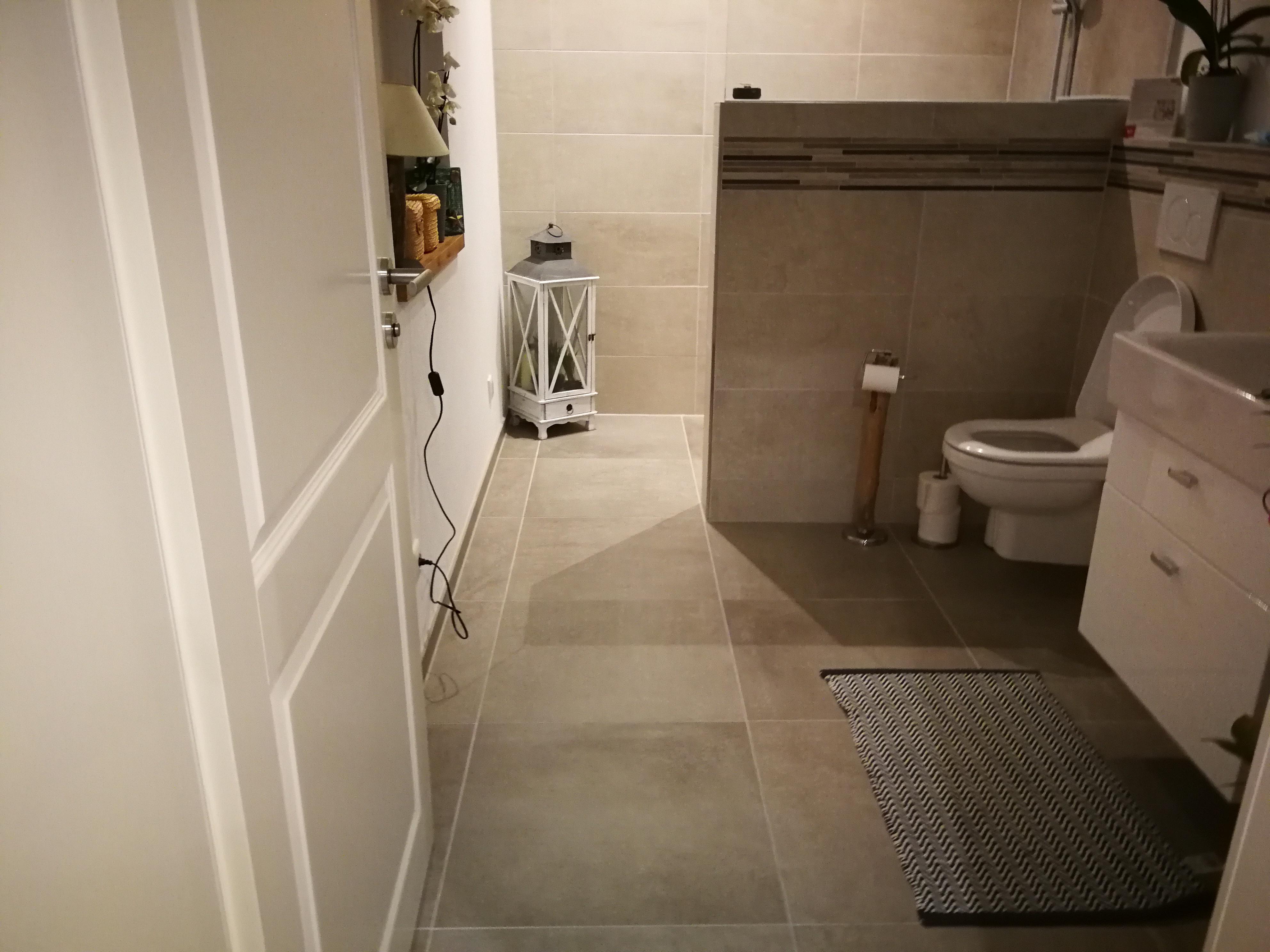 Carbon Fußbodenheizung Bad